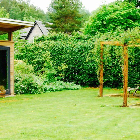 Bothy pergola, designed by Carolyn Grohmann