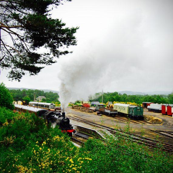 Boat of Garten Steam Railway