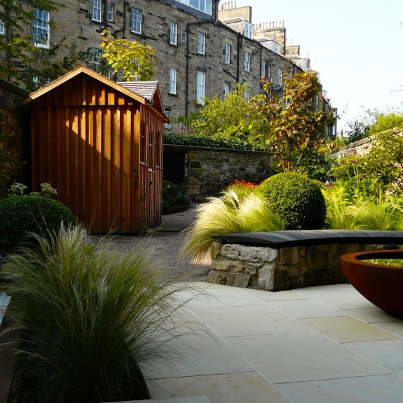 Eton Terrace Garden designed by Carolyn Grohmann, built by Water Gems, Principal BALI award winning garden