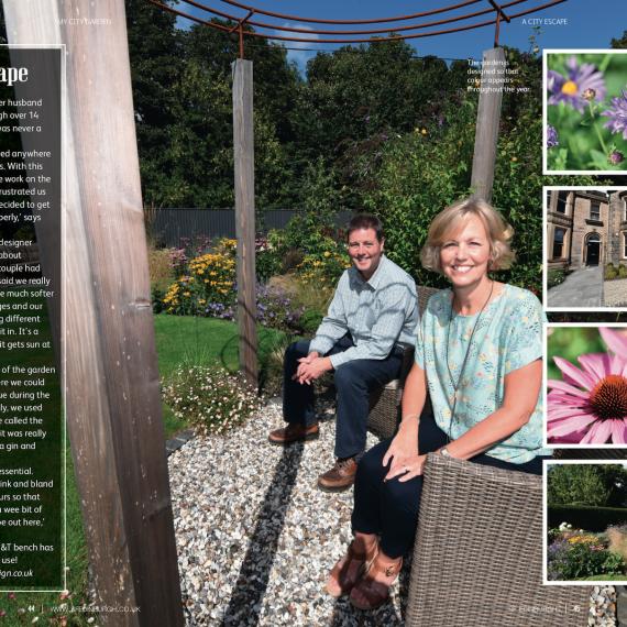 Newington Garden article in SF Edinburgh October 2018