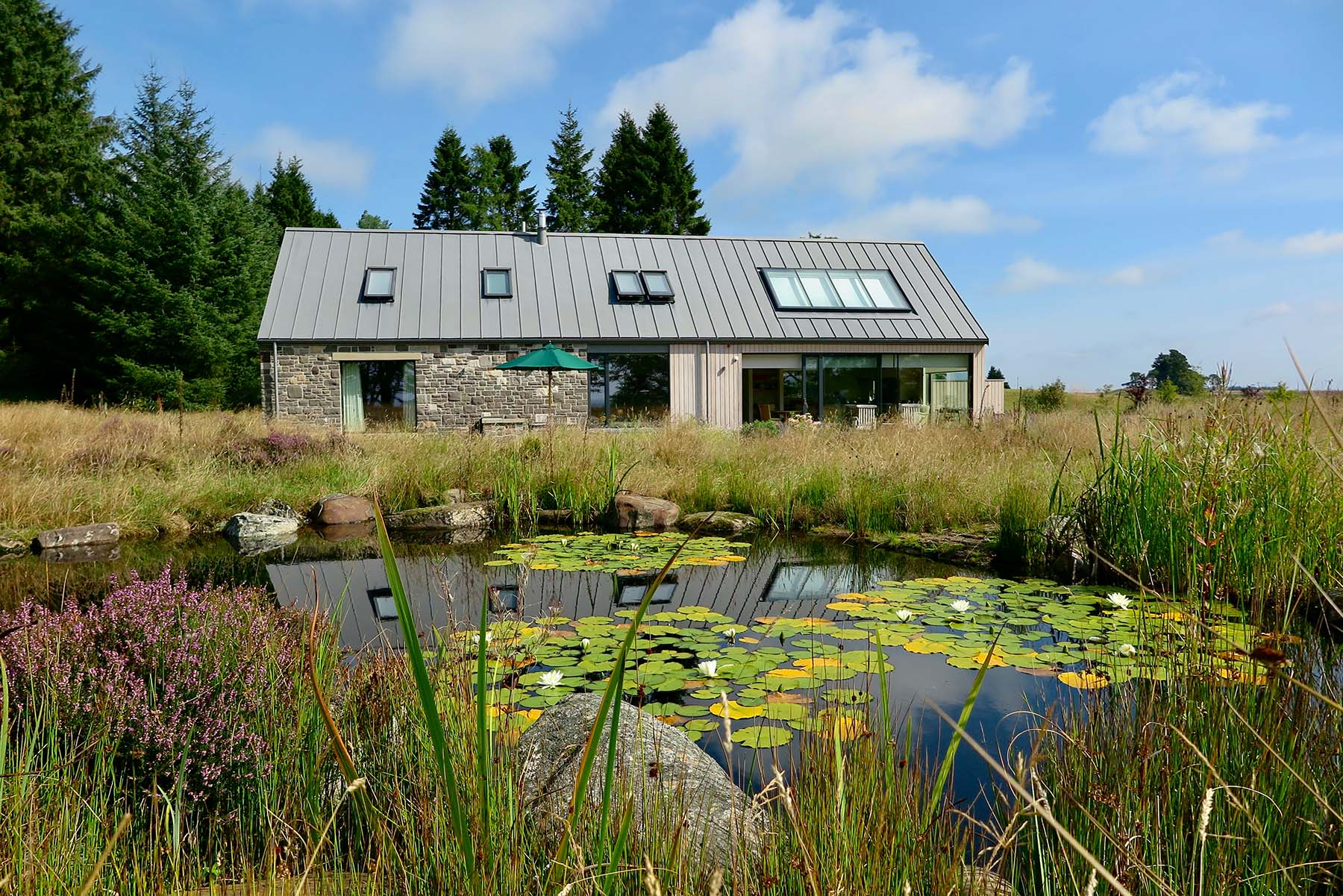 NATURAL POND IN IDYLLIC RURAL SETTING