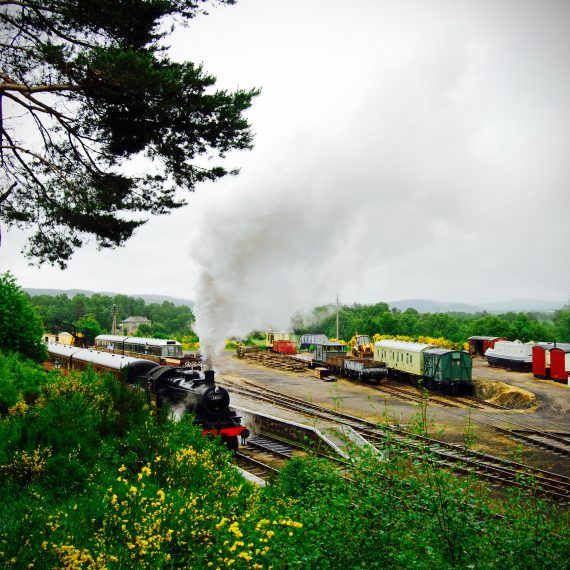 Boat of Garten Steam Railway